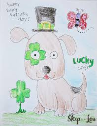 st patricks day coloring page for preschoolers skip to my lou