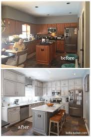 Kitchen Cabinet Refacing Before And After Photos Painted Cabinets Nashville Tn Before And After Photos