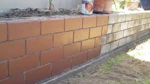 deckover concrete block wall before and after comparison youtube