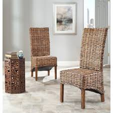 furniture high back chair indoor wicker furniture