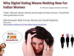 Why Digital Dating Means Nothing New For Indian Women     XX Factor     Medium Why Digital Dating Means Nothing New For Indian Women