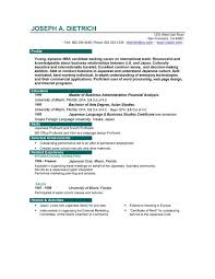 Example of Excellent Resume for Job Jeekers   Shopgrat CareerPerfect com