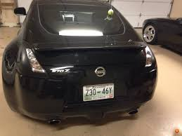 nissan 370z all black opinions on plasti dipped tail lights nissan 370z forum