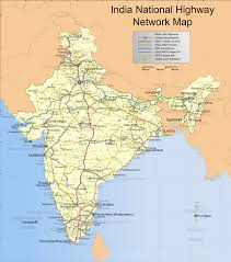 Ancient India Map by Indian Road Network Wikipedia