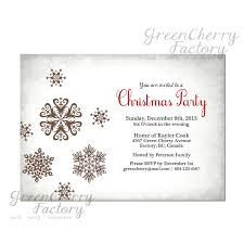 new home party invitations white christmas party invitation vintage silver light gray snow