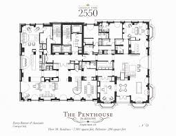 Penthouse Floor Plans Penthouse Floorplans Lincoln Park 2550 Chicago Il