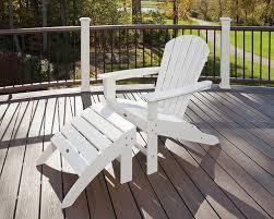 amazon com trex outdoor furniture cape cod adirondack chair