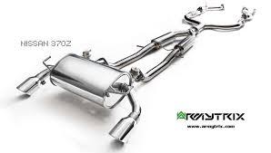 nissan 370z ark exhaust armytrix flash sale ends 1 29 2016 nissan 370z forum
