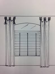 window treatments for curved and arched windows design drapes