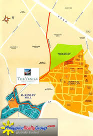 Metro Manila Map by The Venice Luxury Residences Taguig Metro Manila Philippine