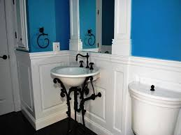 Wainscoting Ideas Bathroom by Cool Bathroom Wainscoting Panels Images Design Inspiration Amys