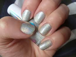 review 17 holo nail polish in silver u2013 chyaz