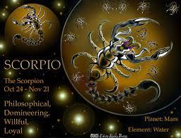 Tranzit Sunca kroz znak Škorpiona
