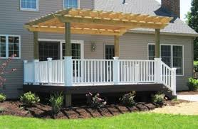 Enclosing A Pergola by Outdoor Living Spaces Earthworks Landscape Design U0026 Construction