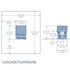 cascade playhouse wooden playhouses backyard discovery