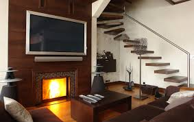 Living Room With Tv by Living Room With Tv Above Fireplace Decorating Ideas Decorating