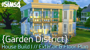 sims 4 speed build garden district i new orleans style family