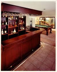 home design elegant home bars design ideas with notched shape