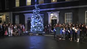 Simons Cat Christmas Tree by Larry The Cat Claims Festive Spot Under Downing Street Christmas Tree
