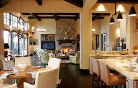 open floor plan ranch style house