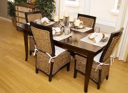 furniture stylish outdoor patio with rattan dining chairs and