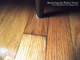 Hardwood Floor Restore Restoring The Picket Fence Simple Fixes Removing Scratches From