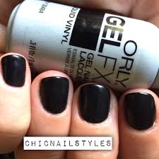 orly gelfx liquid vinyl with edgy fall nailart chic nail styles