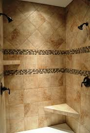 bathroom walk in shower enclosures subway tile bathrooms