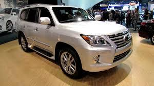 lexus lx 570 price canada 2013 lexus lx570 exterior and interior at 2012 toronto auto show