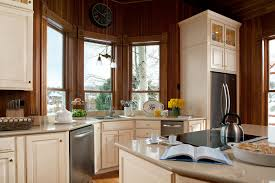 Traditional Kitchen Designs Furniture Traditional Kitchen Design With White American Woodmark