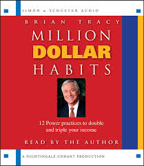million dollar habits audiobook on cd by brian tracy official