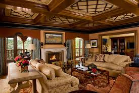 traditional grand living room ideas with nice carpet and unique