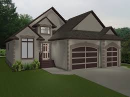 3 bedroom bungalow house plan with garage two story house plans