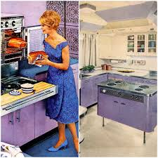 taste the rainbow vintage kitchens of every shade big chill