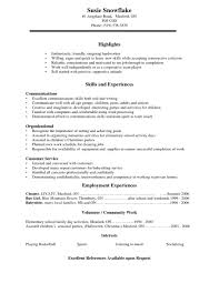 Resume Examples For Customer Service Jobs  resume   best customer     Employment Resume Sample  example resume  resume sample for       resume examples