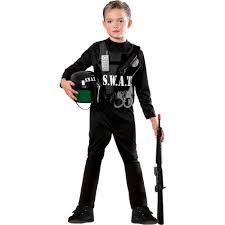 party city halloween ninja costumes s w a t team child halloween costume walmart com