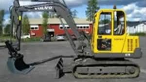 volvo ec70 compact excavator service parts catalogue manual