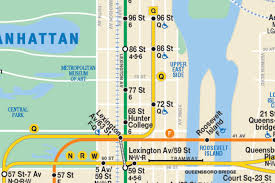 Subway Nyc Map by This New Nyc Subway Map Shows The Second Avenue Line So It Has To