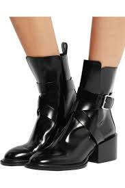 leather biker boots 106 best boots images on pinterest leather boots black leather