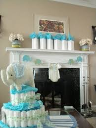Boy Baby Shower Centerpieces by Blue And Green Elephant Baby Shower Decorations Elephant Baby