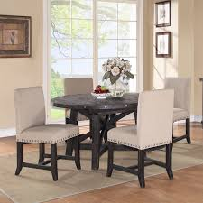 Five Piece Dining Room Sets Modus Round Yosemite 5 Piece Round Dining Table Set With Wood