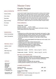 Examples Of Summaries On Resumes by Graphic Design Resume Designer Samples Examples Job