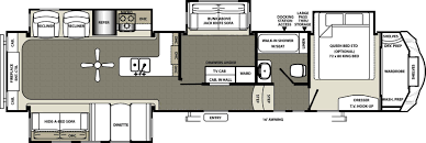 Fifth Wheel Bunkhouse Floor Plans Forest River Sierra Trailers For Sale In Lake Charles Louisiana