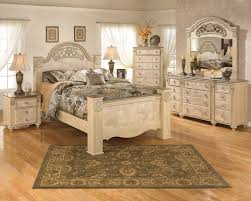 Ashley White Bedroom Furniture Saveaha Poster Bedroom Set By Ashley Home Gallery Stores