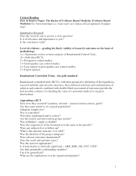 Sat Essay Example Bank Critical Writing Examples Essay