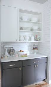 Upper Kitchen Cabinet Ideas The Best White Paint Dove White Benjamin Moore Upper Cabinets