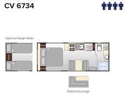 Caravan Floor Plan Layouts Emerald Caravan Floorplans