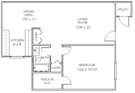 Two Bedroom Apartment Floor Plans Apartment Floor Plans One Bedroom Apartments In Clifton Park Ny