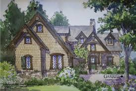 timber bridge cottage house plan house plans by garrell