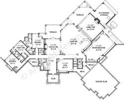 Ranch House Plan by Kettle Creek Ranch Rustic Home Plan Luxury Home Blueprints